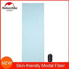 NatureHike приятный для кожи спальный мешок из модального волокна, подкладка для путешествий и кемпинга, Сверхлегкий и портативный с мешком для вещей