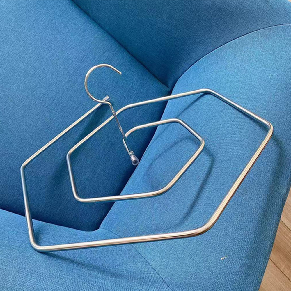Rotating Cloths Rack Circle Square Spiral Hanger For Sheet Blanket Drying Rack Hook Closet Hanger Space Saver Home Accessories