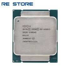 تستخدم إنتل زيون E5 1650 V3 3.5GHz 6 النواة 15Mb مخبأ LGA2011 3 CPU E5 1650 V3 المعالج