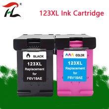 Cartucho de Tinta para HP123 123XL 123XL Cartucho de Tinta para Impressora HP Deskjet 1110 1111 1112 2130 2132 2134 Officejet 3830 3831 3832 3834