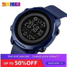 SKMEI Sport Smart Men Watch Fashion Display a luce impermeabile App per telefono compatibile con Bluetooth ricorda il Monitor per dormire 1572