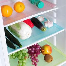 1pc/4 pçs geladeira almofada antifouling mofo umidade almofada tailable antiderrapante geladeira esteiras almofadas