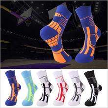 Basketball-Socks Crew Outdoor-Socks Cycling Exercise Running Sports Thick High-Quality