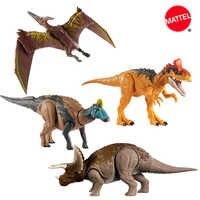 Figuras de acción de Jurassic World para niños, juguete DE ACCIÓN DE cryodophaurus, Enmontosaurus, Pteranodon, Triceratops, dinosaurio