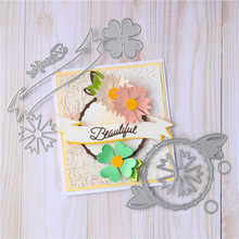 Eastshape Flower Circle Metal Cutting Die Scrapbook Card 2020 New Production Embossing Process Decoration