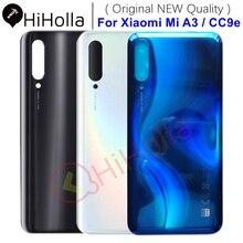 Oryginalny nowy dla Xiaomi Mi A3 pokrywa baterii powrót szklany Panel tylna obudowa drzwi przypadku telefonu dla Xiaomi Mi CC9e A3 pokrywa baterii