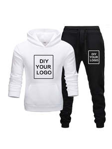 Men Tracksuit Hoodies Sportswear Two-Pieces-Set Brand Clothes Fashion New Hot Autumn