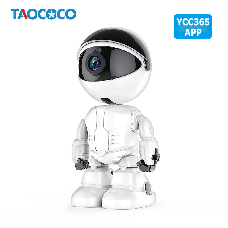 1080P Smart Robot Camera HD IP Camera WiFi Camera Wireless Baby Monitor Motion Detection Night Vision Security Camera YCC365 APP