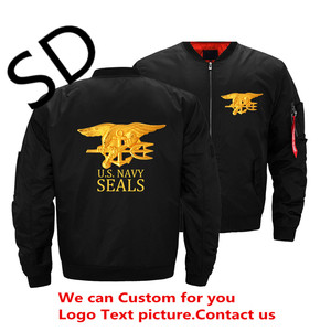 Eua do exército da marinha selos bombardeiro jaqueta moda masculina grosso inverno militar motocicleta jaquetas masculino vôo ma-1 piloto casaco de ar s-5xl