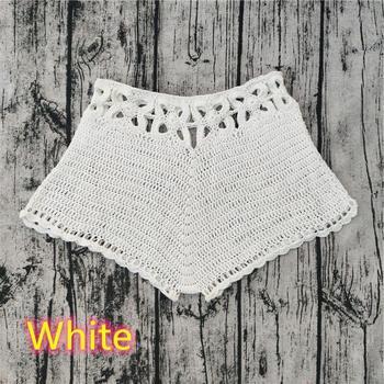 Solid Knitted Women Crochet Bikini Set