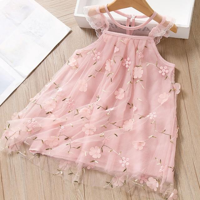 платье детское летнее без рукавов в горошек на возраст 2 6 лет фотография
