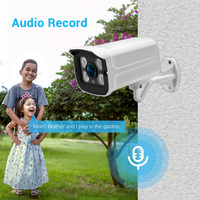 Hamrolte IP Hi3516EV300 5MP ONVIF Waterproof Outdoor Audio Record Email Alert Remote Access XMeye Cloud H.265