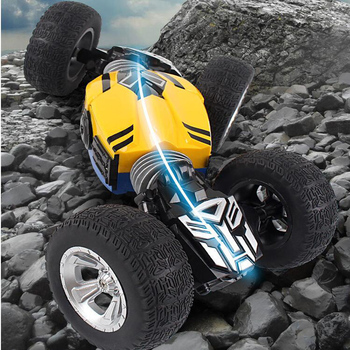 Remote Control Deformation Car Large Four-Wheel Drive Climbing Twisted Racing Car Rechargeable High-Speed Off-Road Car Boy Toy
