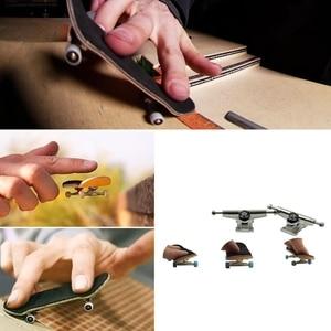 Professional Finger SkateBoard Wooden Fingerboard Wood Basic Fingerboars With Bearings Wheel Foam Tape Set Finger Skateboards
