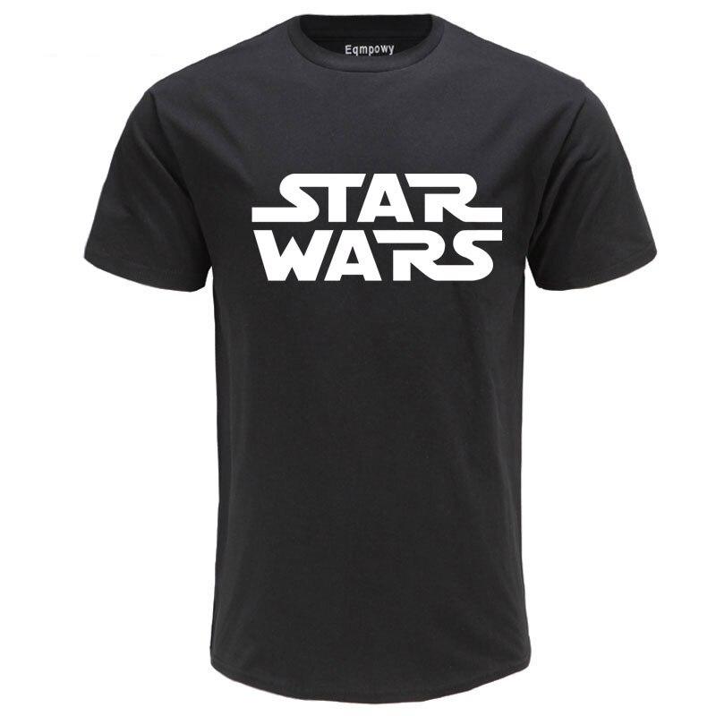 100% Cotton High Quality T-shirt Star Wars Letter Printing Fashion Men's T-shirt Streetwear Carhartt Shirt Men Funny T Shirts