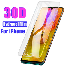 30D Hydrogel Film For iPhone 11 Pro Max XR X XS Screen Protector  For iPhine 7 8 Plus 6 6s 11 Pro Max Soft Protective Film