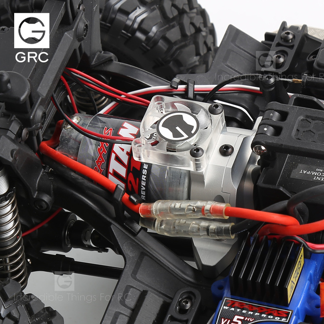 Фото grc integrated motor base metal gear cover for 1 / 10 rc tracked цена