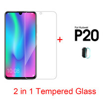 2 in 1 Explosion-proof Screen Film For Huawei V30 Pro Camera Film For Huawei P20 Pro P20 lite P Smart Plus 2019 Honor 20 10 lite(China)