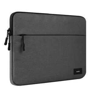 Image 5 - ل أبل ماك بوك برو 13 15 A1706 A1707 A1708 مع شريط مسة حقيبة الكمبيوتر المحمول حالة سستة بطانة كم شنطة لحمل Macbook الهواء