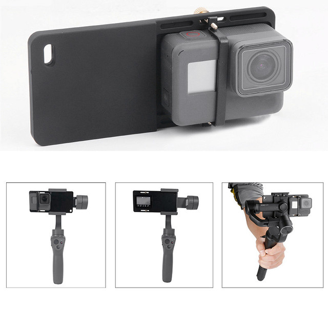 Handheld Gimbal Adapter Schalter Platte Montieren für GoPro Hero 7 6 5 Yi 4k Feiyu Zhiyun Stabilisator DJI Osmo action Zubehör Set