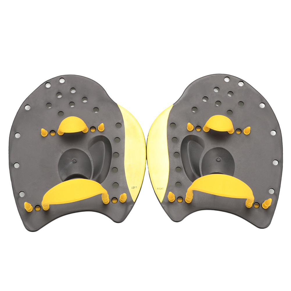 Hot Selling Swimming Paddles Swimming Palms Children Adult Paddling Training Exercises Arm From Silicone Hand Paddles