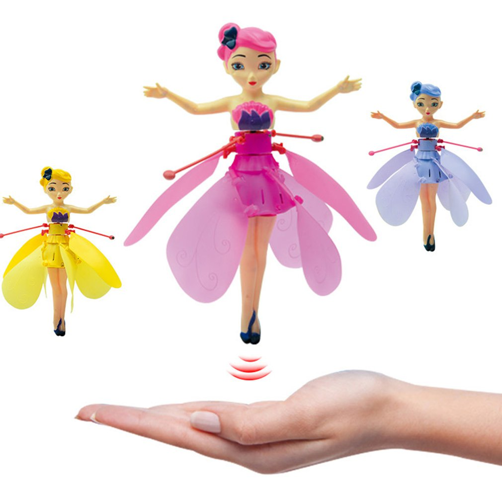 Flying Angel Dolls Princess Induction Control Flying Dolls Remote Control Flying Toys For Children Girl
