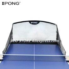 שולחן כדורי טניס לתפוס נטו מקורי IPONG פחמן גרפיט macth עם מאמן מכונת פינג פונג כדור רובוט איסוף