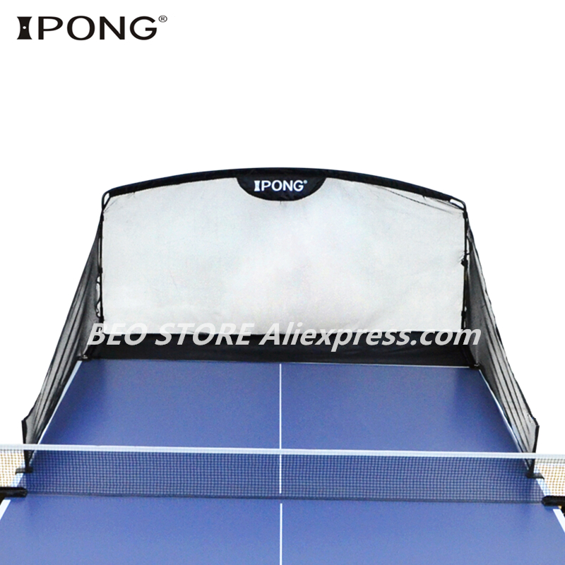 Table Tennis Balls Catch Net Original IPONG Carbon Graphite Macth With Trainer Machine Ping Pong Ball Robot Collecting