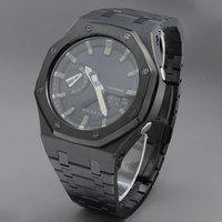 Correa de reloj V3.5 PLUS ga2100 para GA-2100, funda con correa de acero inoxidable, herramientas MOD, banda de reloj GA-2100 GA2110 personalizada