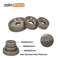 Electroplated Diamond Grinding Wheel for Metal Milling Sharpening 50/60/85mm 46Grit 1Pc