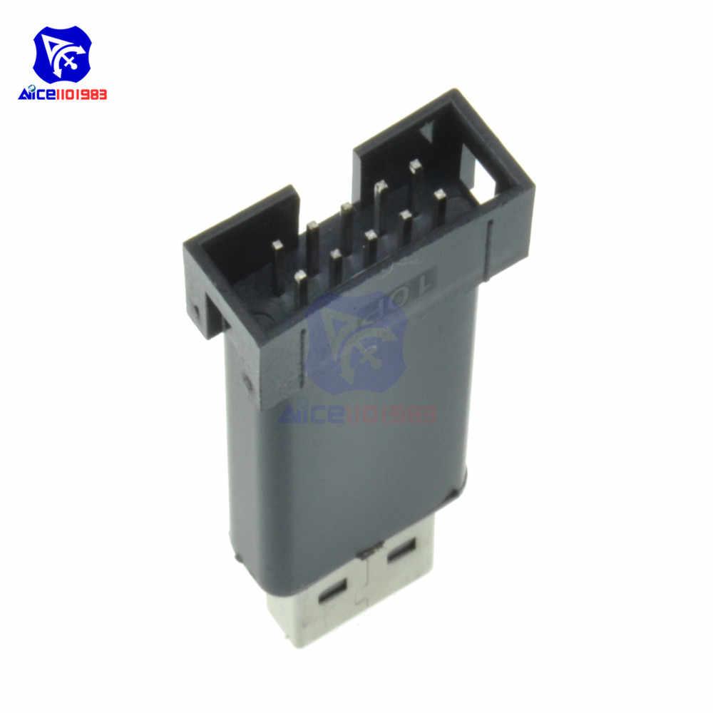Diymore USBASP USBISP ISP программатор загрузчик для Arduino 51 ATMEL AVR с поддержкой 64 бит Win7 32Bit Win98 WinMe Win2000 WinXP