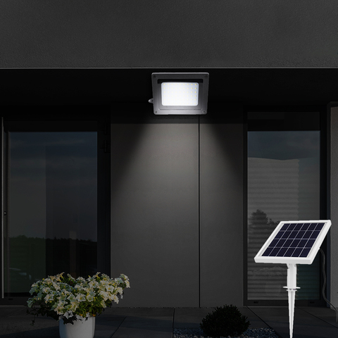 lampada solar ao ar livre jardim rua