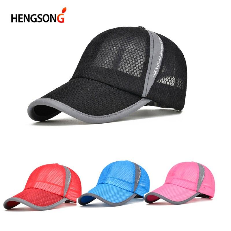Unisex Summer Breathable Golf Cap Hat Women Mesh Cap Snapback Hat Golf Cap Male Sport Brand Hat Golf Cap Men