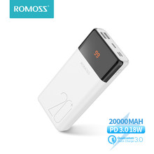 ROMOSS – batterie externe lt20 plus, 20000 mAh, Charge rapide, QC PD 3.0, 20000 mAh, pour Xiaomi, iPhone