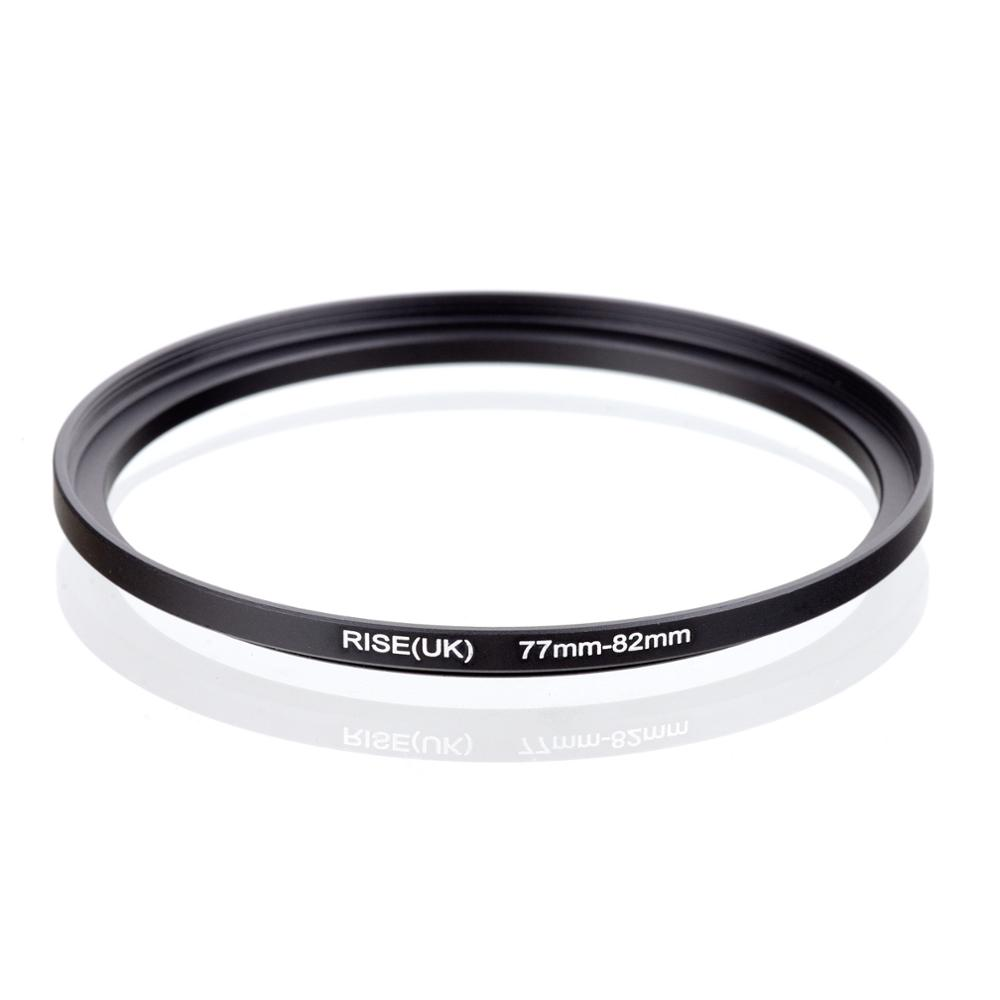 RISE(UK) 77mm-82mm 77-82 Mm 77 To 82 Step Up Filter Ring Adapter