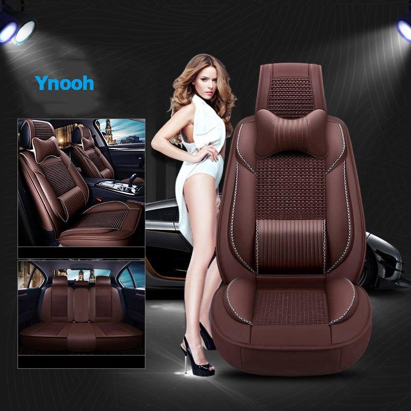 Ynooh автомобильные чехлы на сиденья для focus mk1 2 Ranger Mondeo mk4 explorer figo Transit custom fusion 2015 tourneo подключения автомобильный протектор