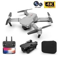 2021 NEUE Drone 4K 1080P HD Kamera WiFi Fpv Luftdruck Höhe halten Schwarz Und Grau Folding Quadcopter professionelle RC Eders Spielzeug