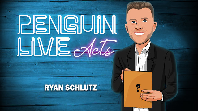 2020  Ryan Schlutz Penguin Live Act Magic Instructions  Magic Trick