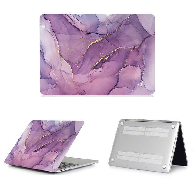 MTT Laptop Case For Macbook Air Pro Retina 11 12 13 15 16 Marble Cover for mac book 13.3 inch Touch Bar a1466 a1932 a2159 a2141 5