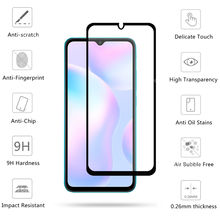 4-in-1 For Xiaomi Redmi 9A Glass For Redmi 9 9A Tempered Glass HD Protective Glass Screen Protector For Redmi 9A 9C 9 Lens Glass