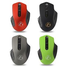 iMice 2.4G Wireless Mouse 3 Levels DPI Adjustable Optical Mice for Computer PC rii rm200 2 4g wireless mouse 5 buttons rechargeable mobile optical mouse with usb nano receiver 3 adjustable dpi levels for pc