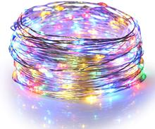 Solar Powered String Lights Waterproof Fairy String Copper Wire Lights for Party, Patio, Garden,Yard,Wedding,Christmas Decor