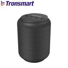 【In Stock】New Tronsmart T6 Mini TWS Bluetooth Speaker 15W with AI Voice Assistant professional waterproof portable mini Speaker cheap Battery Plastic Full-Range 2 (2 0) Play Video Apple s Siri FLAC Other Tronsmart T6 Mini Bluetooth Speaker 2500mAh Bluetooth 5 0