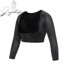 Joyshaperผู้หญิงแขนSlimming Shaper Corrector Crop TopแขนยาวShapewear Back Shoulderรั้งรองรับใหม่
