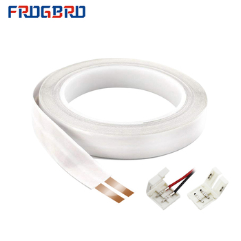 bvv 50mm square soft sheathed cable control power line monitor power cord home improvement copper electronic wire conductor FROGBRO 23 AWG Flat Cable add 2 Terminal Blocks 2 Conductor 10M Pure Copper with Adhesive Backing Power Extension Cord