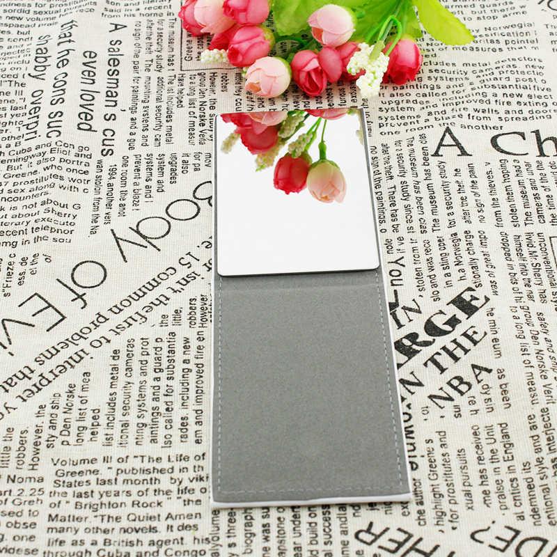JWEIJIAO мои любимые повседневный костюм со звездами и надписью икон стол настольное зеркало из нержавеющей стали для макияжа Красота инструменты кошелек зеркало IK36