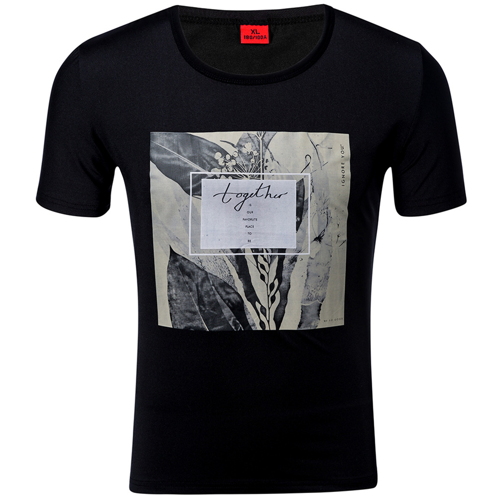 Новинка 2019, Хлопковая мужская футболка с коротким рукавом, Милая футболка в стиле хип-хоп, модная мужская футболка высокого качества