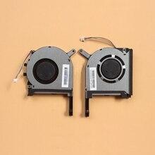 새로운 원래 CPU GPU 냉각 팬 쿨러 아수스 FX705 FX705G FX705GM FX86 FX86SM FX505 FX505D FX505DU 노트북 냉각 팬 17.3