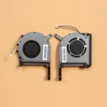 חדש מקורי מעבד GPU קירור מאוורר cooler עבור ASUS FX705 FX705G FX705GM FX86 FX86SM FX505 FX505D FX505DU מחשב נייד קירור מאוורר 17.3