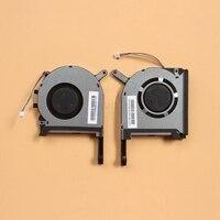 Ventilador de refrigeração original cpu gpu  cooler para asus fx705 xiaomi fx705gm fx86 fx86sm fx505 fx505d fx505du  ventilador de refrigeração de laptop 17.3